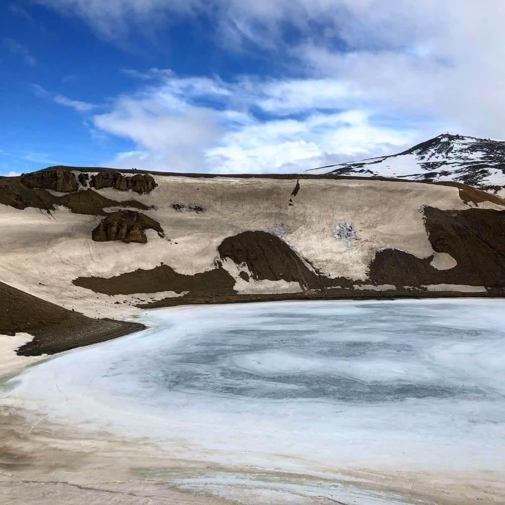 Het prachtige meer van Viti
