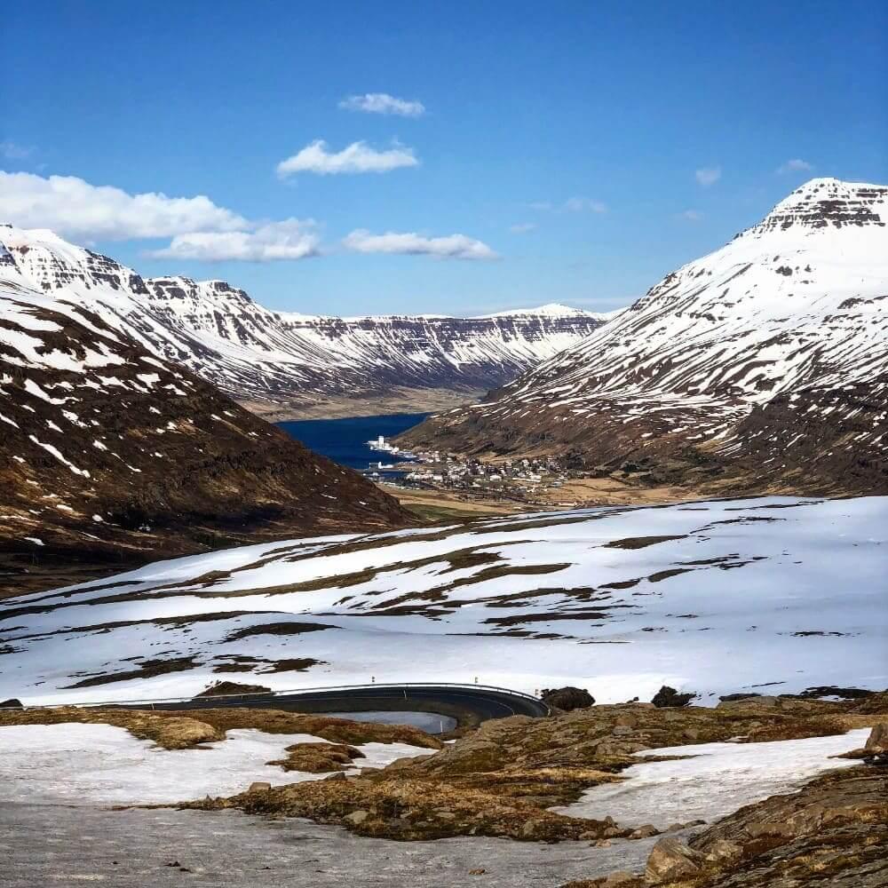 Prachtige fjorden in het noordwesten van IJsland