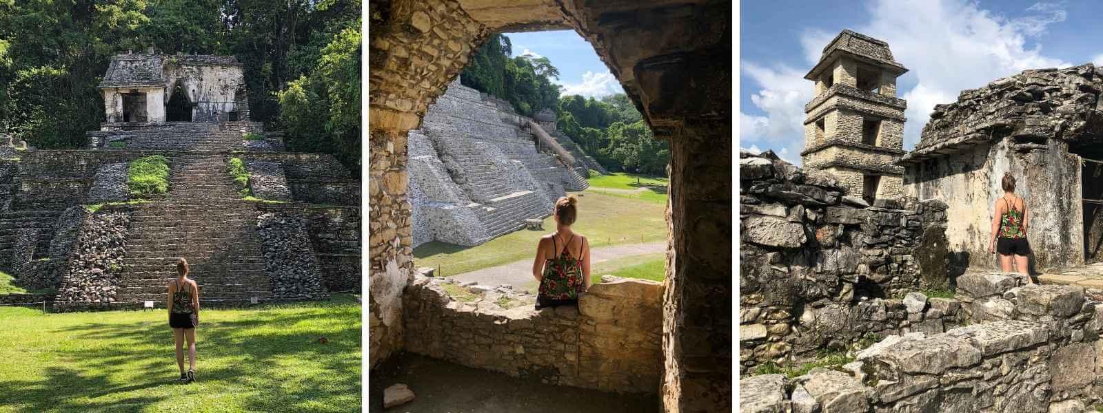 Maya tempel mexico - Palenque
