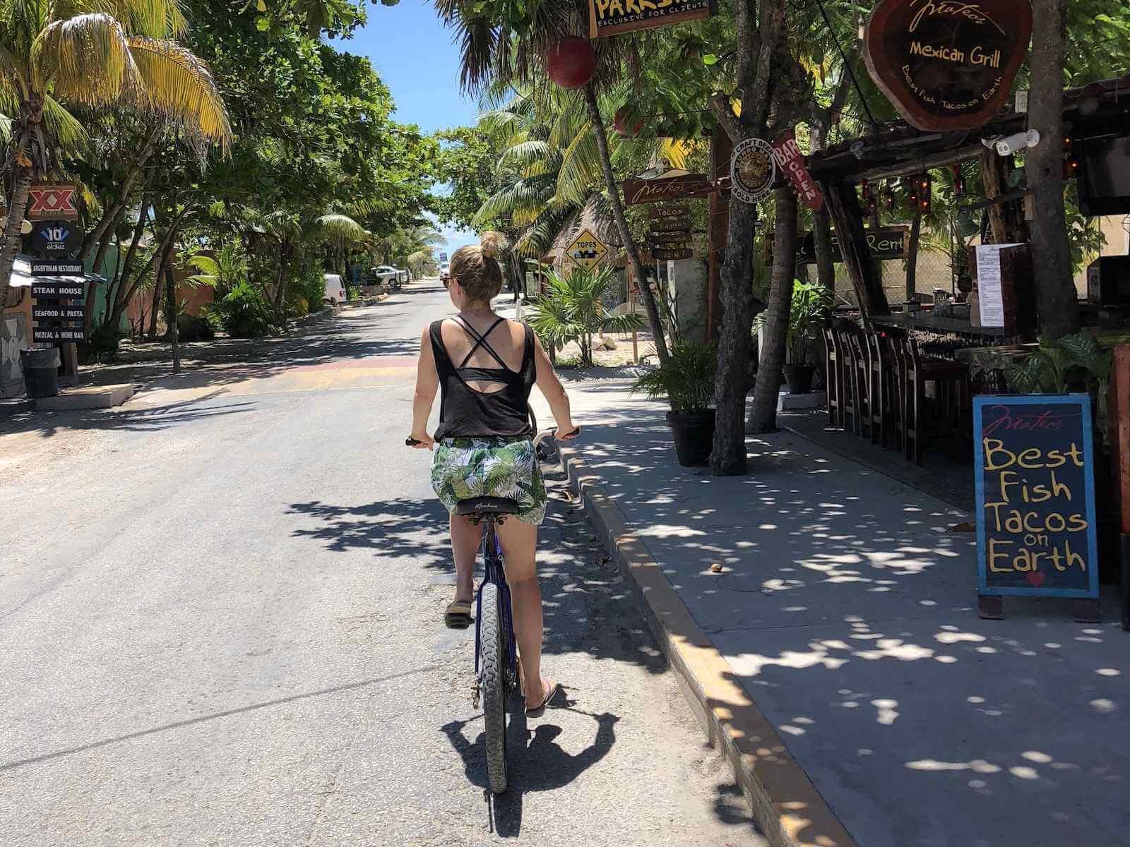 Bezienswaardigheden en activiteiten tulum: huur een fiets en verken Tulum en omgeving