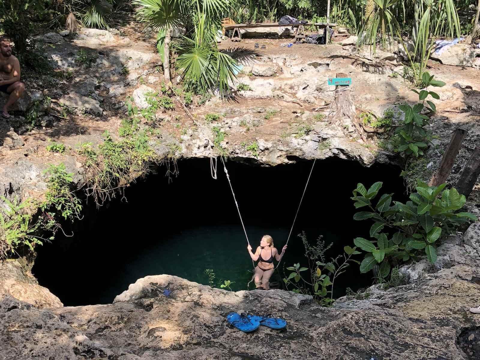 Bezienswaardigheden Tulum: Cenote Calavera
