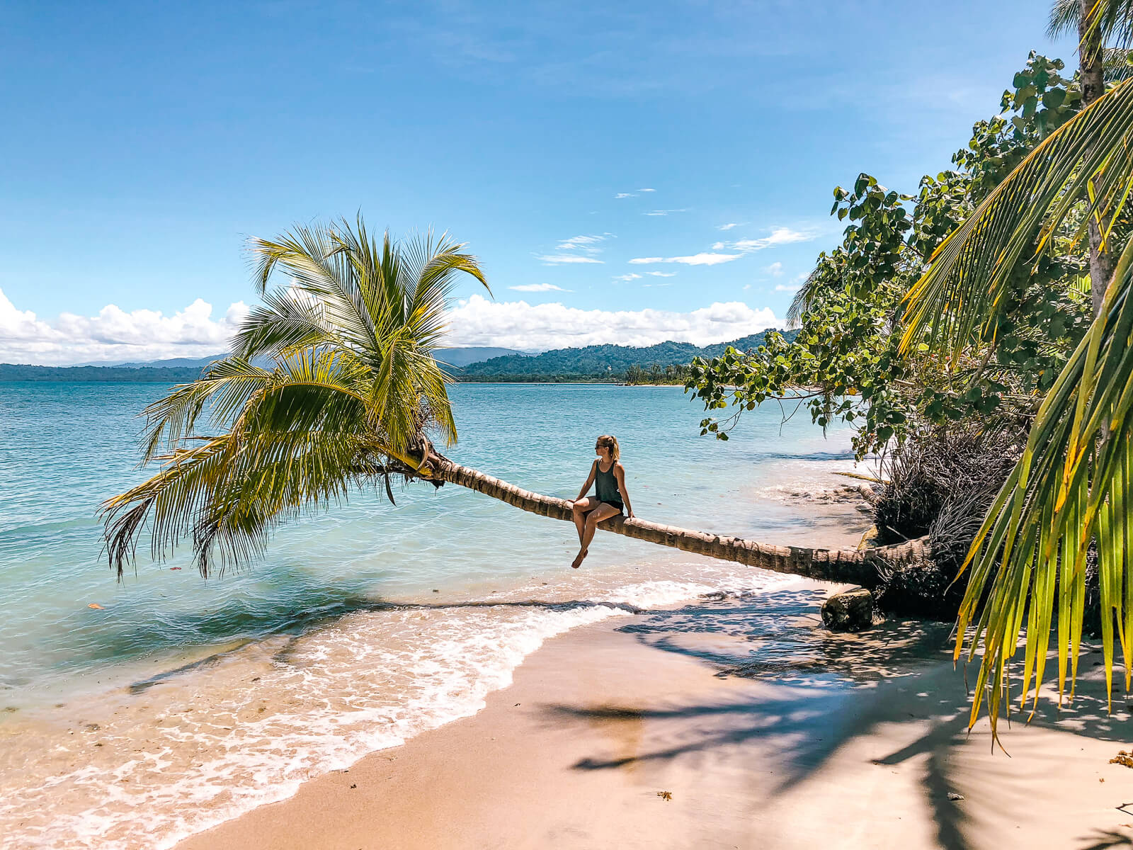 Cahuita - Bounty stranden