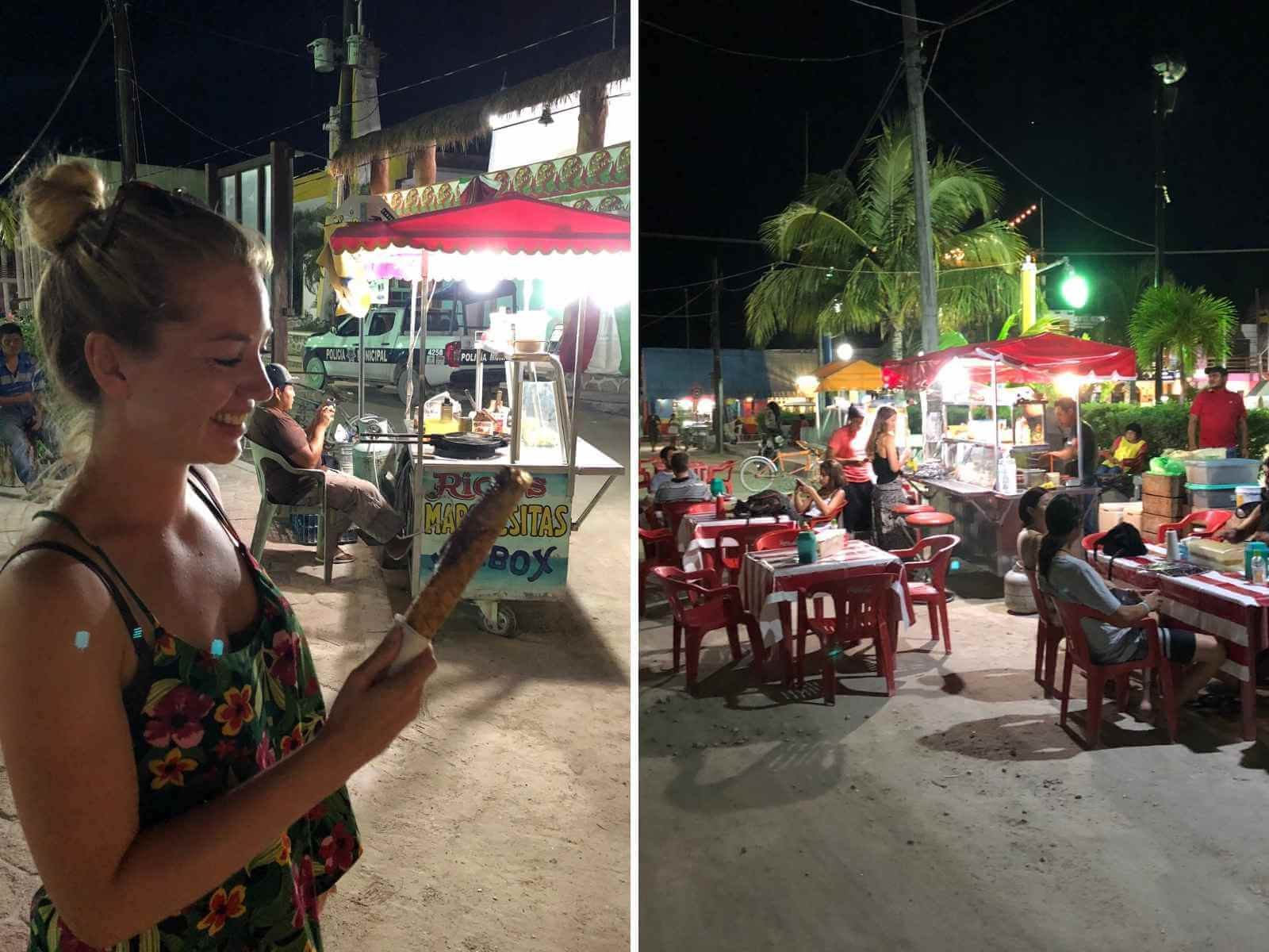 crepes op holbox
