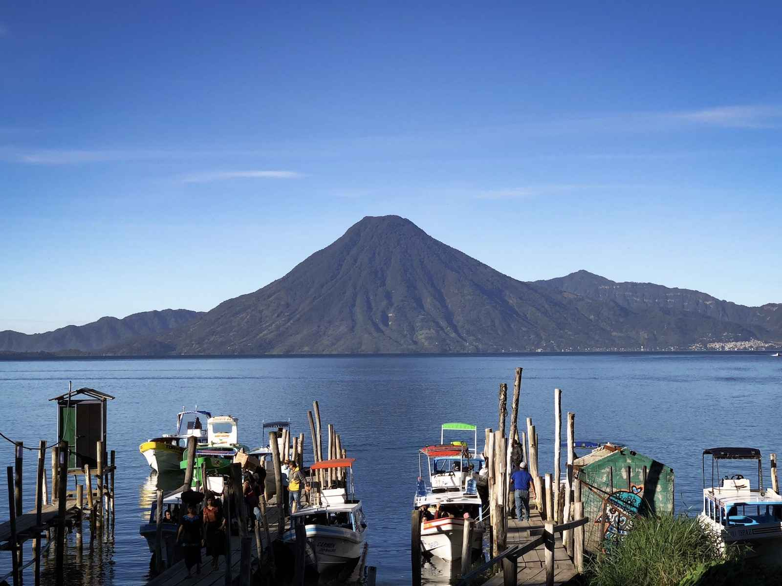 Lake Atitlan activiteiten - beklim de San Pedro vulkaan
