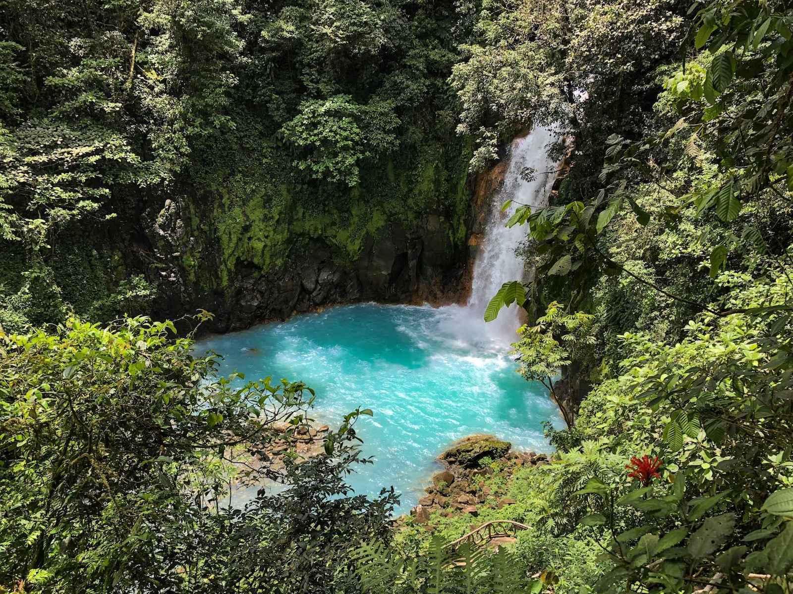 Rio Celeste Waterval Costa Rica