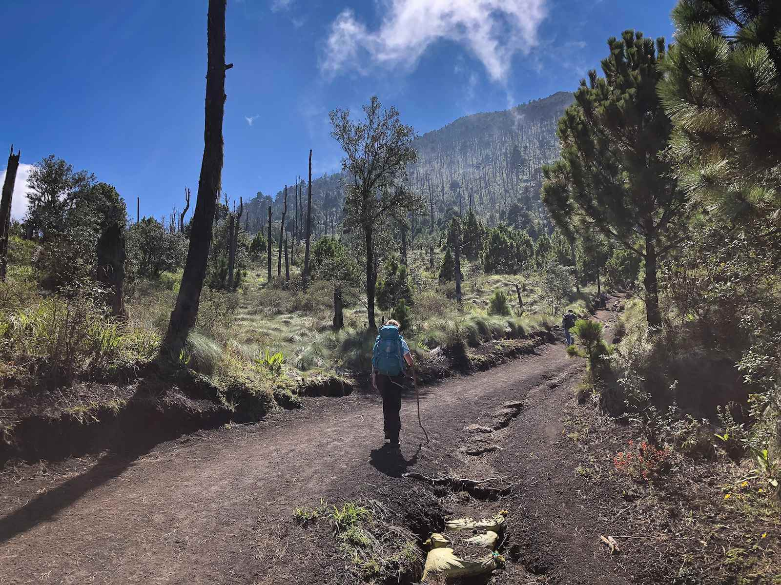 Acatenango Vulkaan beklimmen - de hike