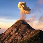 Acatenango vulkaan beklimmen - uitbarsting El Fuego