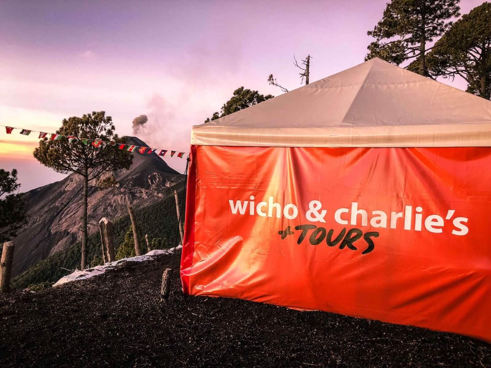 Acatenango Vulkaan beklimmen - Wicho & charlie's tours