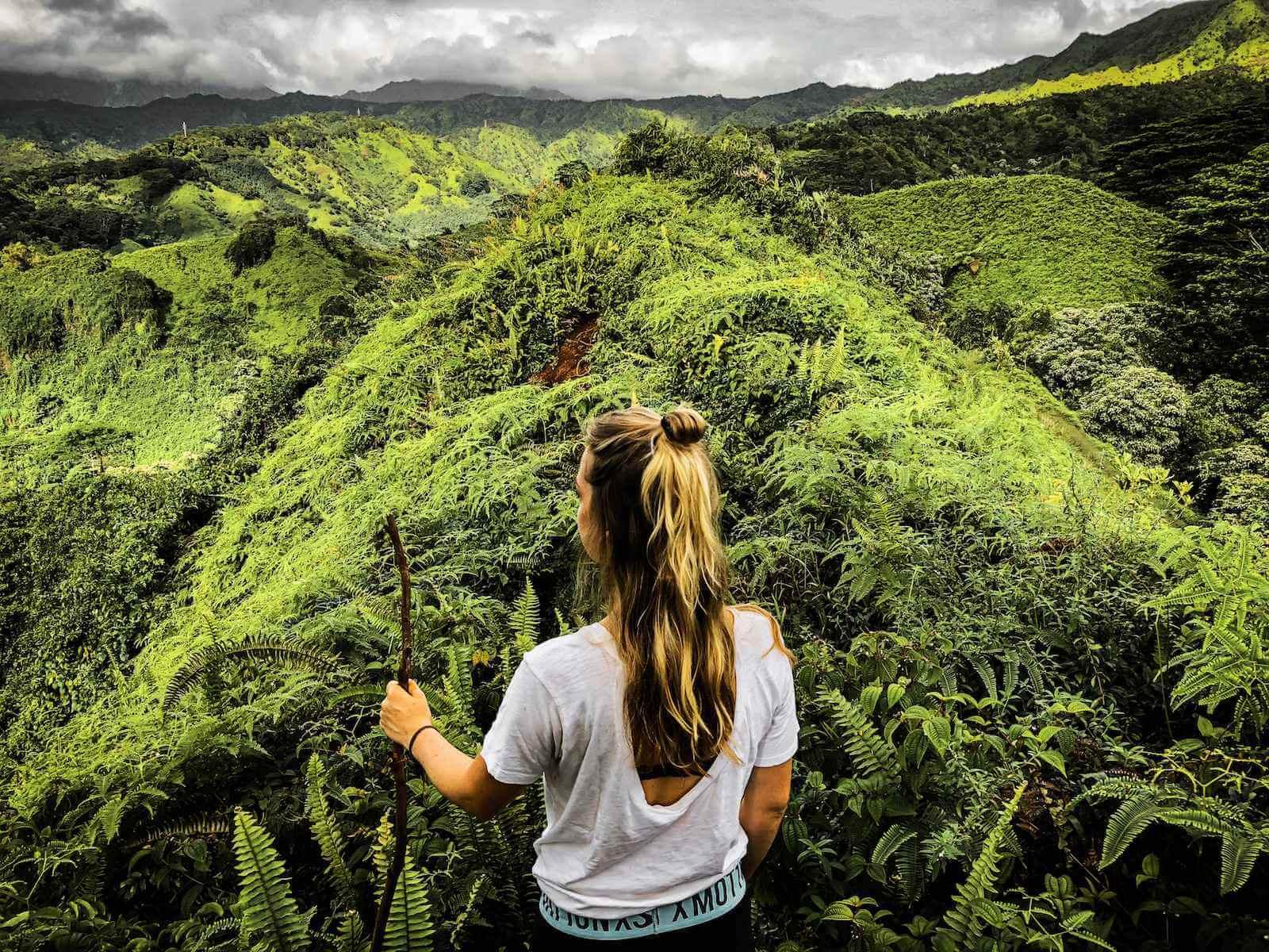 Kauai Kuilau Ridge Trail - Fantastische hike met schitterende uitzichten