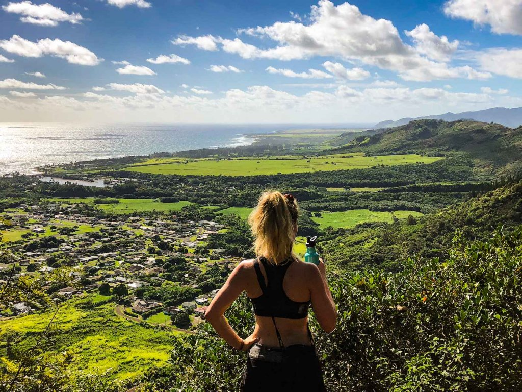 Top 3 hikes Kauai - Sleeping Giant Hike
