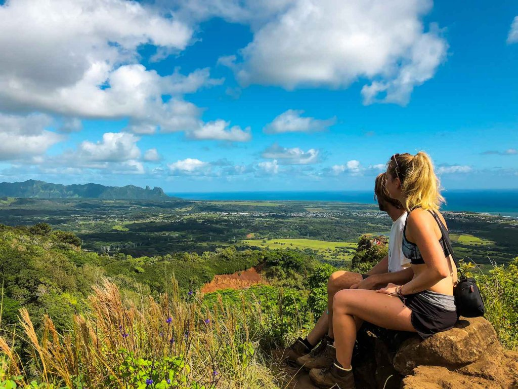 Top 3 mooiste hikes op Kauai - Sleeping Giant Hike