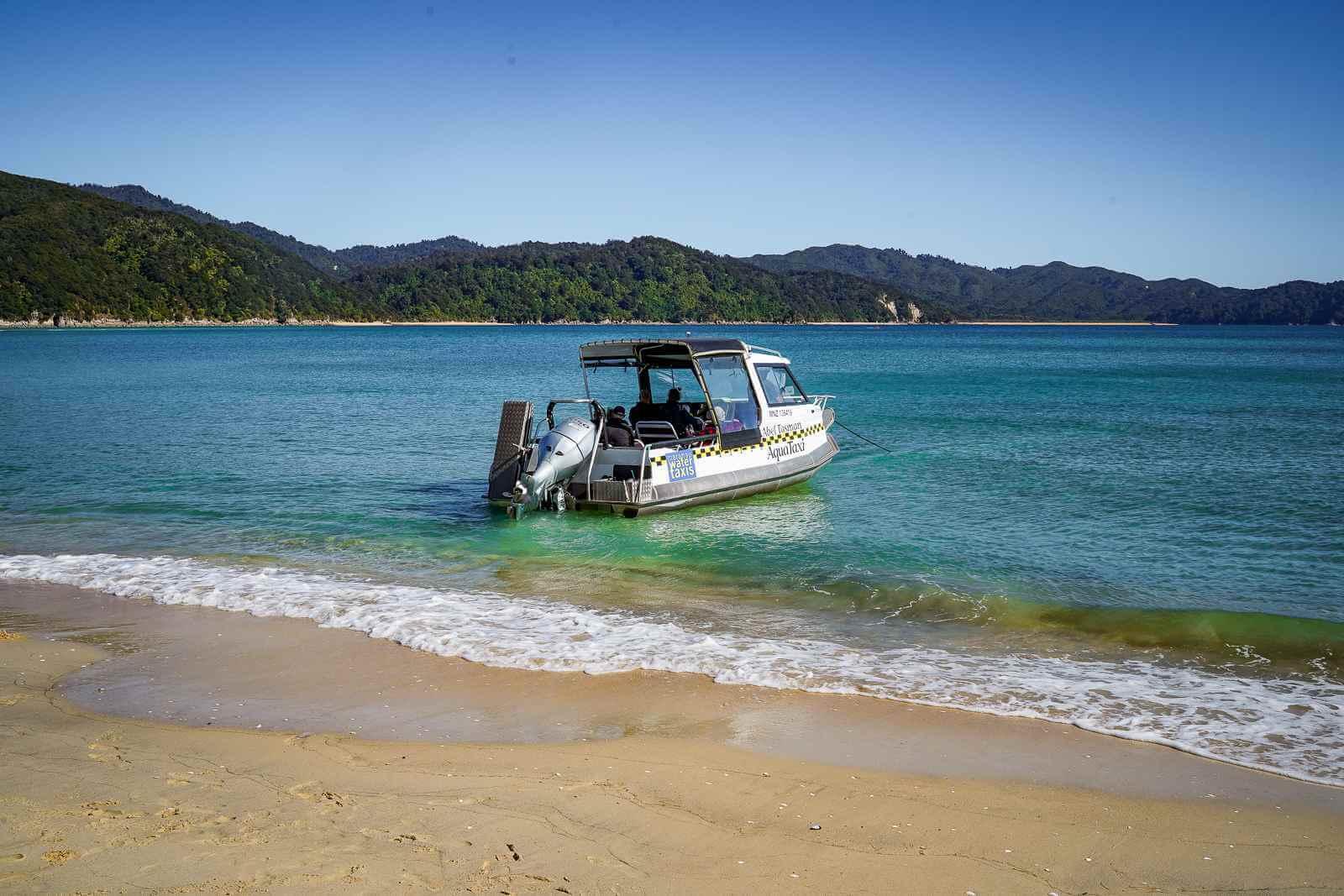 Abel Tasman National Park - Watertaxi