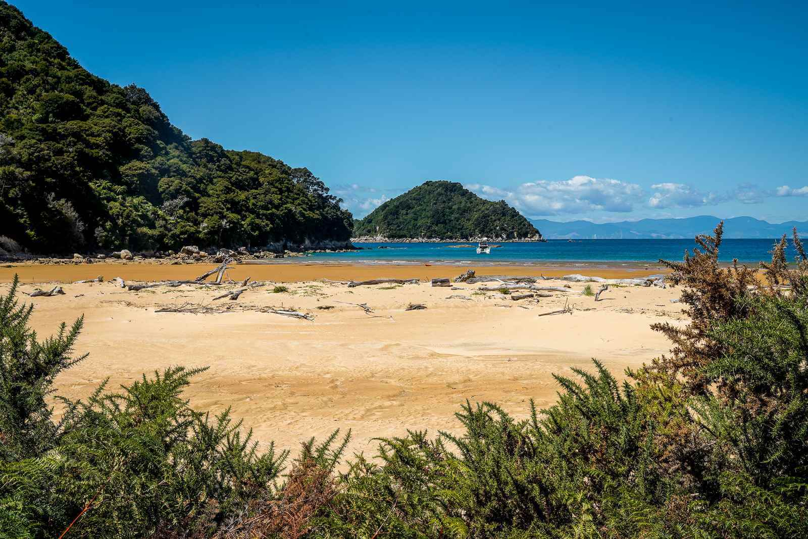 Onetahuti Beach Abel Tasman National Park