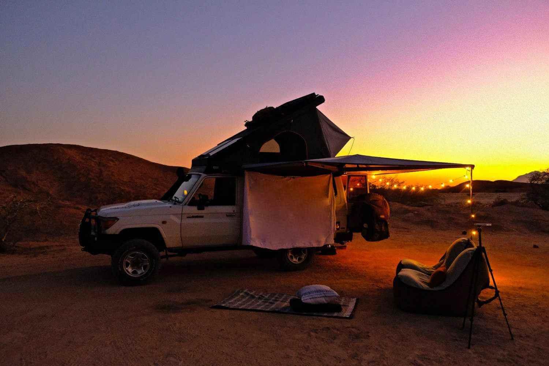Gettin Lost- Zonsondergang Namibie