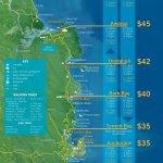 Map Abel Tasman National Park