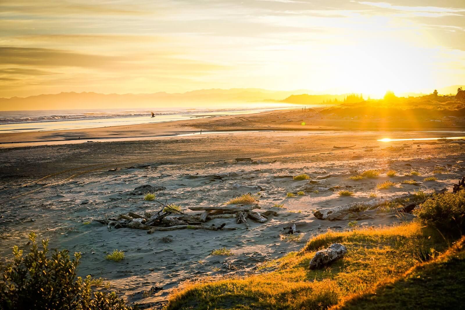Bay of Plenty - Hukuwai Beach Noordereiland Nieuw-Zeeland