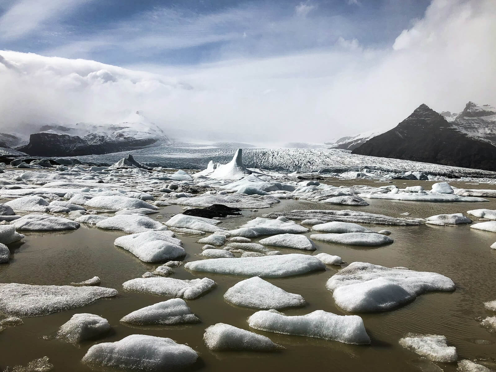 Fjallsarlon Gletsjermeer