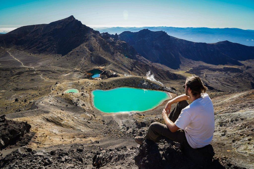 Tongariro Crossing - Mooiste daghike Nieuw Zeeland