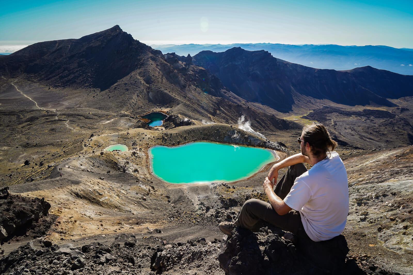 Tongariro Crossing - Populairste daghike van Nieuw Zeeland