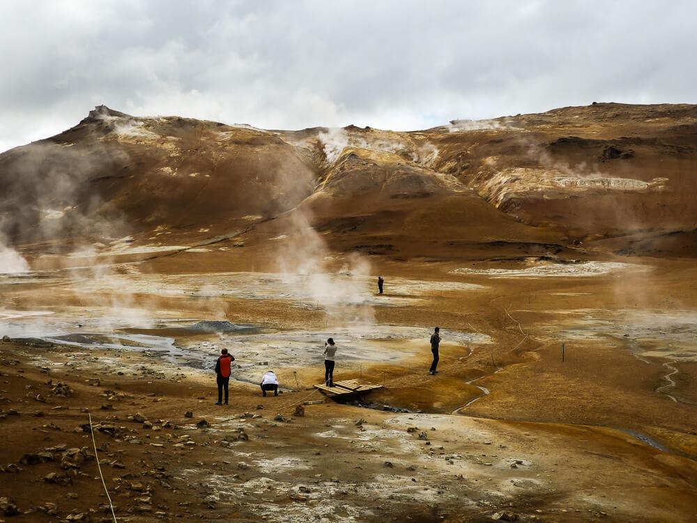 Hverir IJsland - Myvatn regio