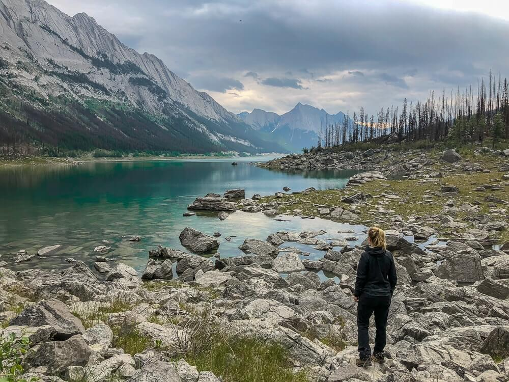 Medicine Lake - Bezienswaardigheden West-Canada