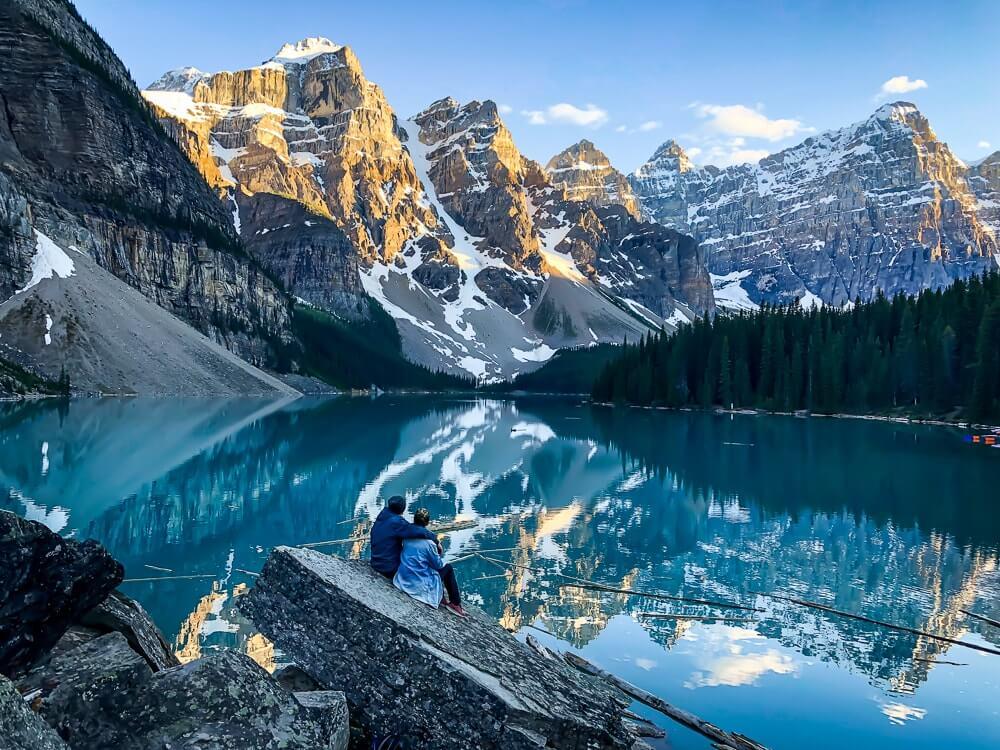 Moraine Lake - Bezienswaardigheden West-Canada