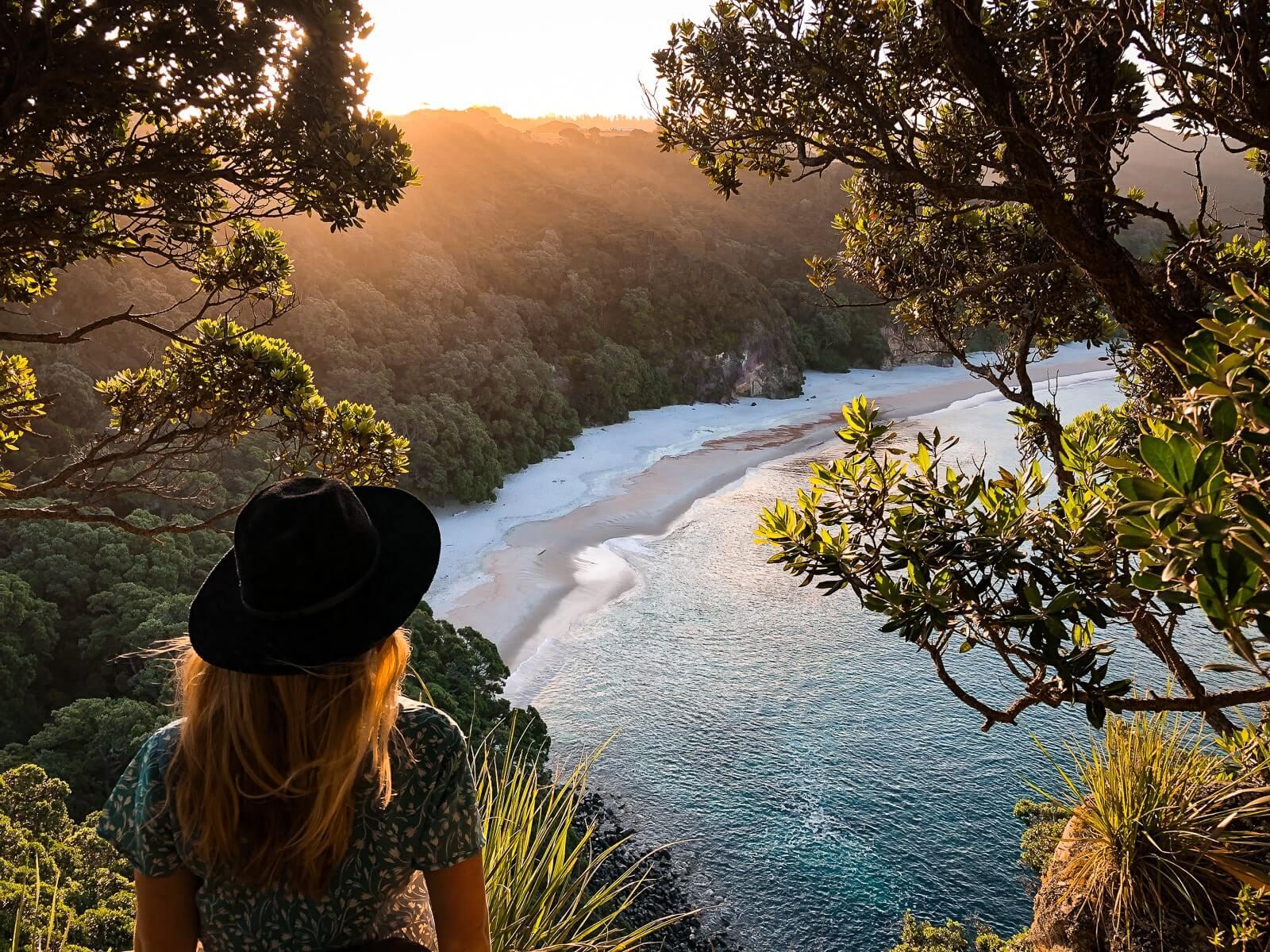 New Chums Beach: must see Noordereiland Nieuw Zeeland