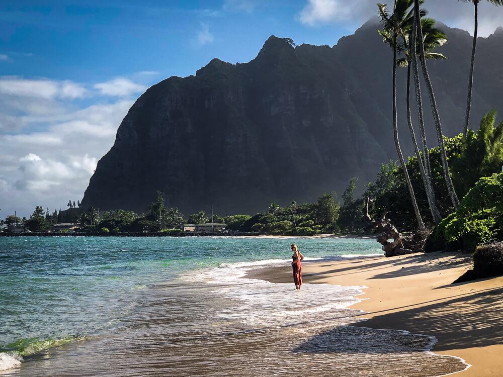 Oahu Ka'a'awa Beach Park Hawaii