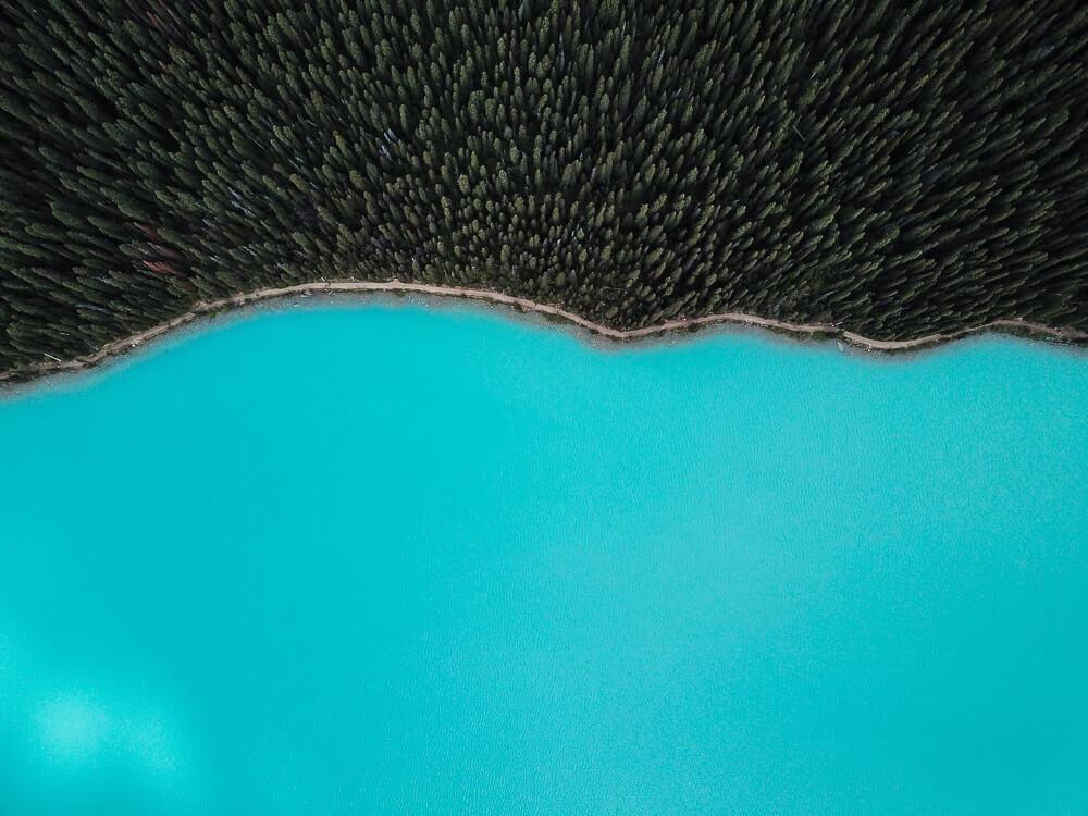Peyto Lake - Ongelofelijk mooi gekleurd meer