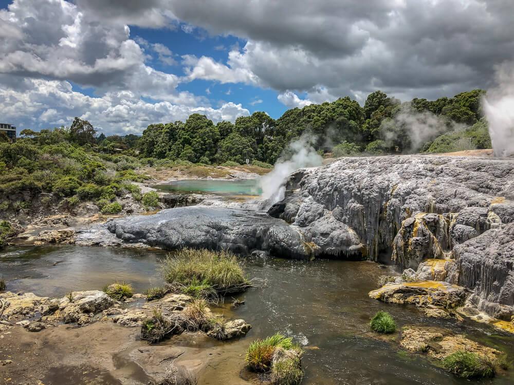 Te Puia Rotorua - Nieuw-Zeeland