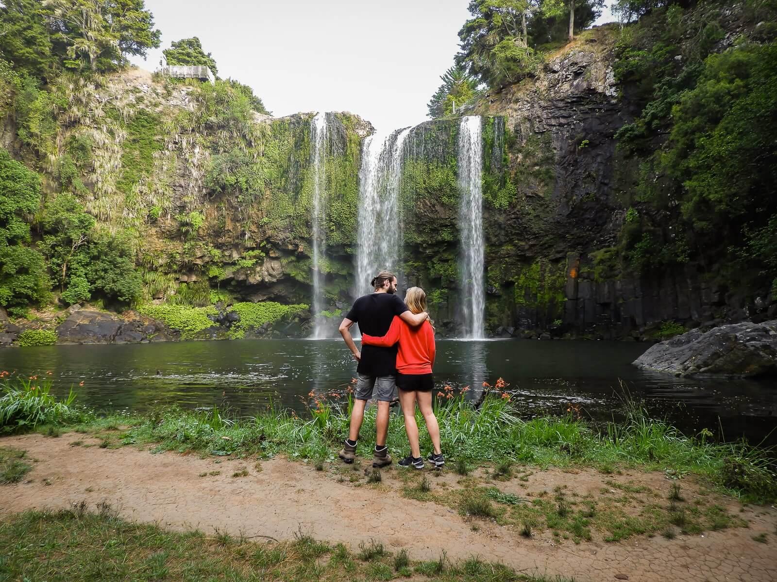 Bezienswaardigheden Noordereiland Nieuw-Zeeland: Whangarei Falls