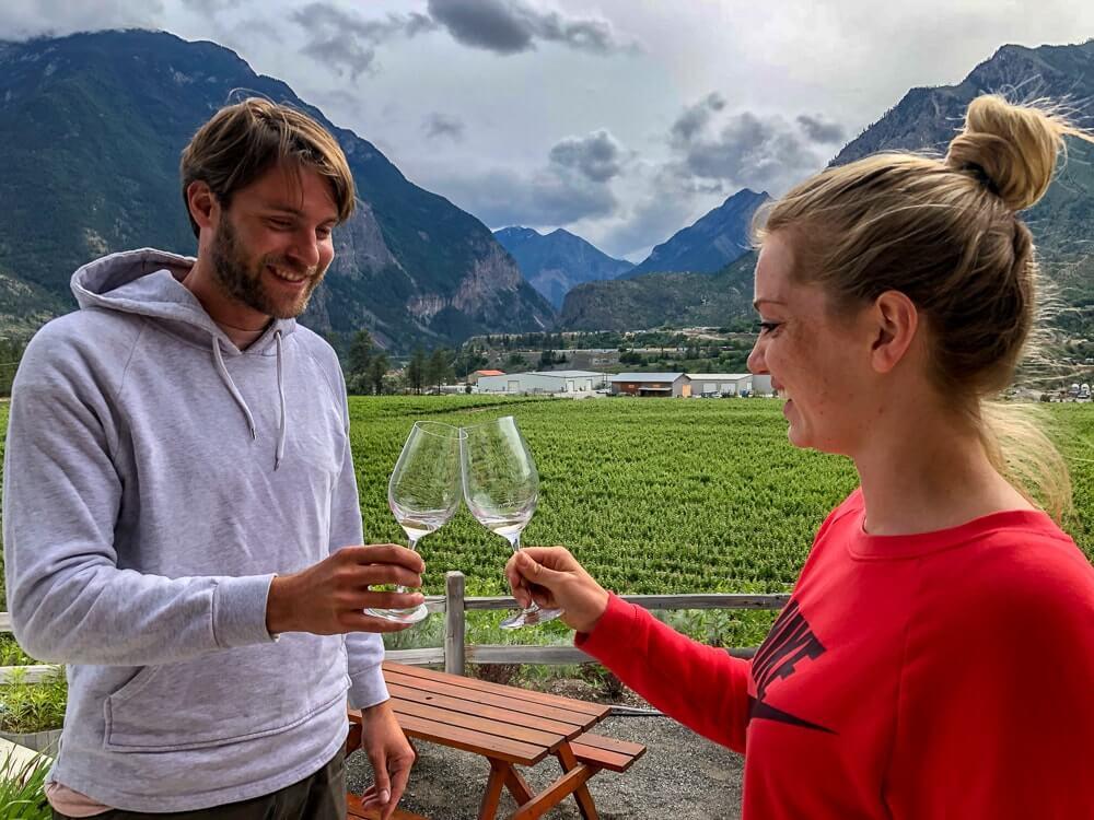 Lillooet - Prachtig gelegen dorp waar je heerlijke wijnproeverijen kunt doen