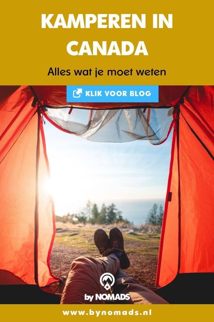 Kamperen in Canada (met tent of camper): alles wat je moet weten - by NOMADS