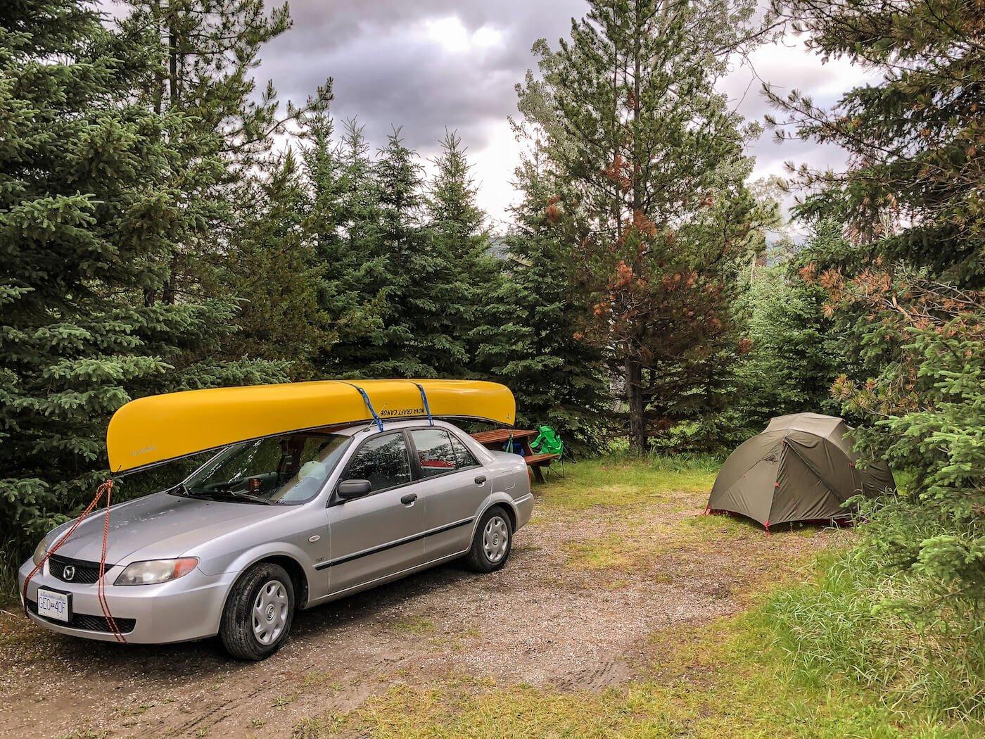 Kamperen in nationala parken Canada - by NOMADS
