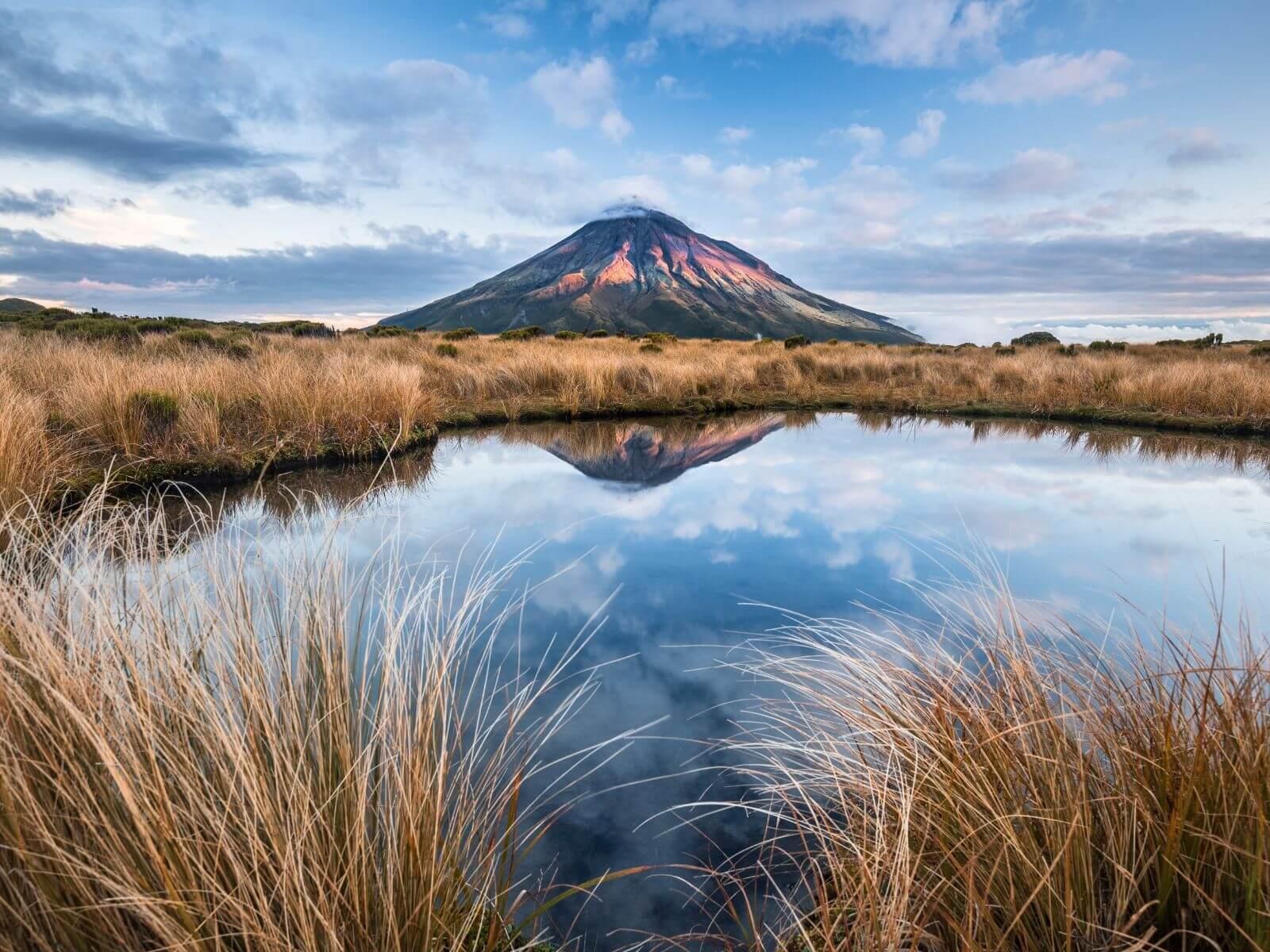 Beste daghikes Noordereiland Nieuw-Zeeland - Pouakai Crossing