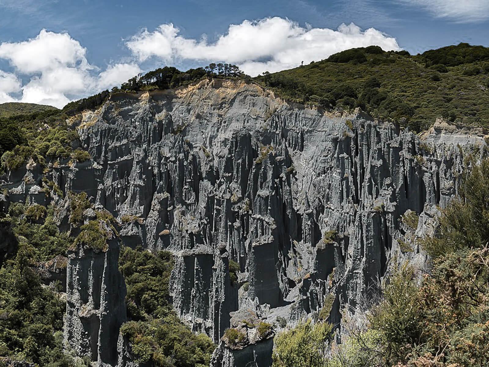 Beste daghikes Noordereiland Nieuw-Zeeland: Putangirua Pinnacles