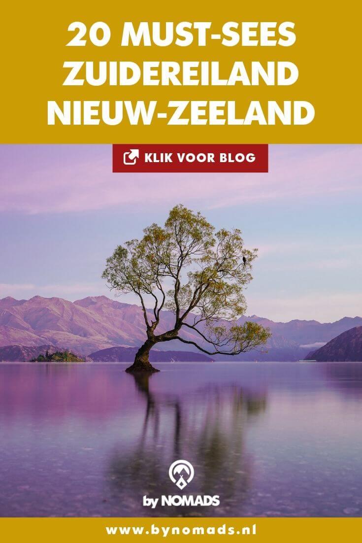 Bezienswaardigheden Zuidereiland Nieuw-Zeeland - by NOMADS