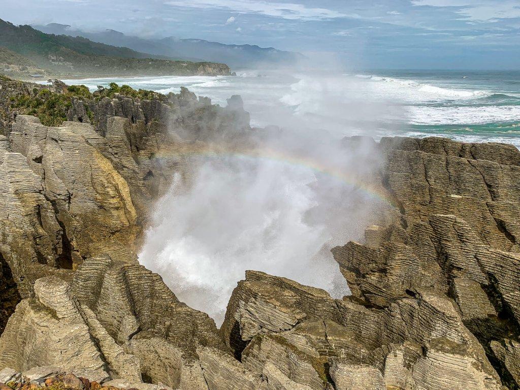 Bezienswaardigheden Zuidereiland: Punakaiki Pancake rocks