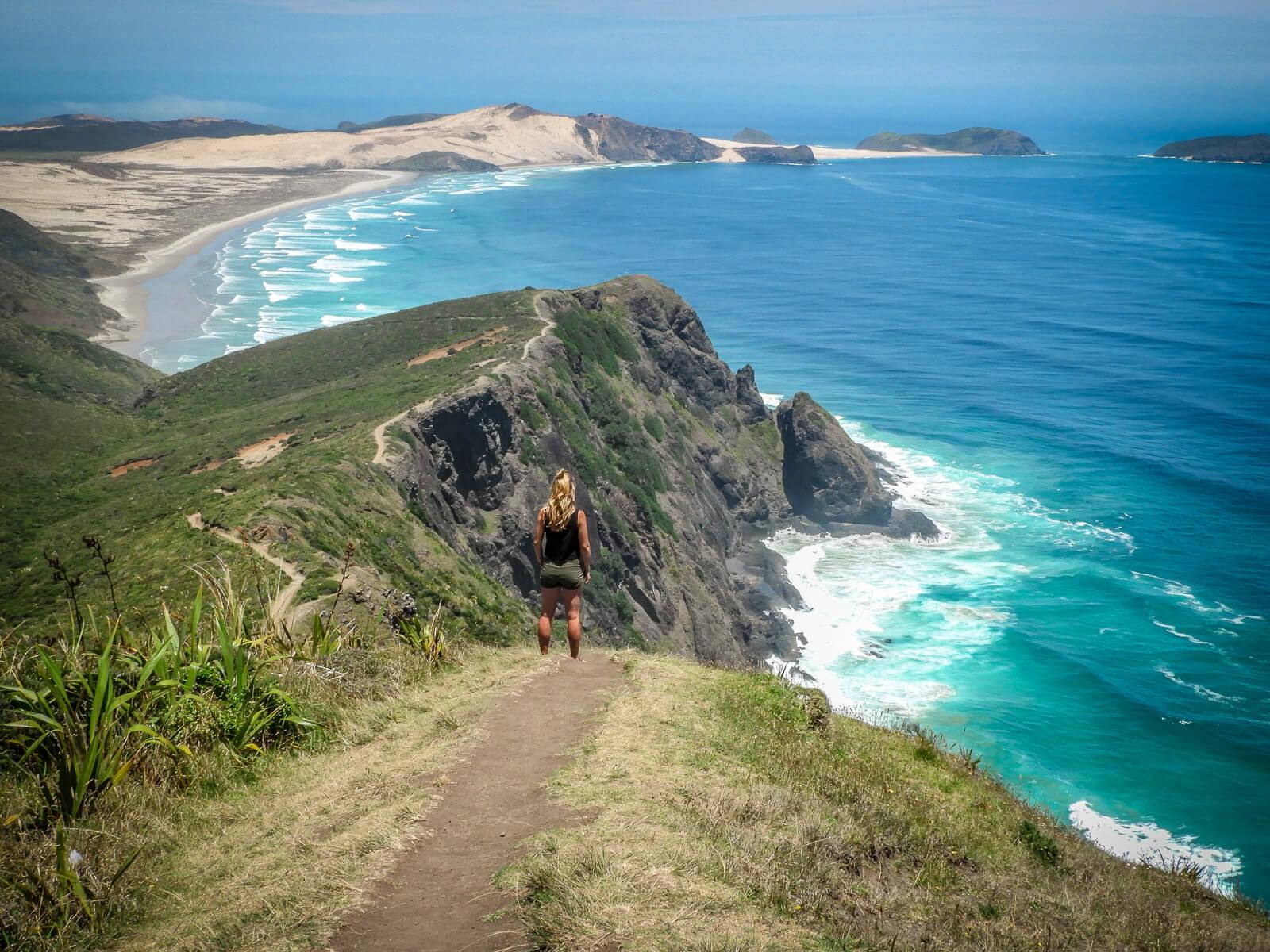 Daghikes Noordereiland Nieuw-Zeeland - Tapotupotu Bay naar Cape Reinga