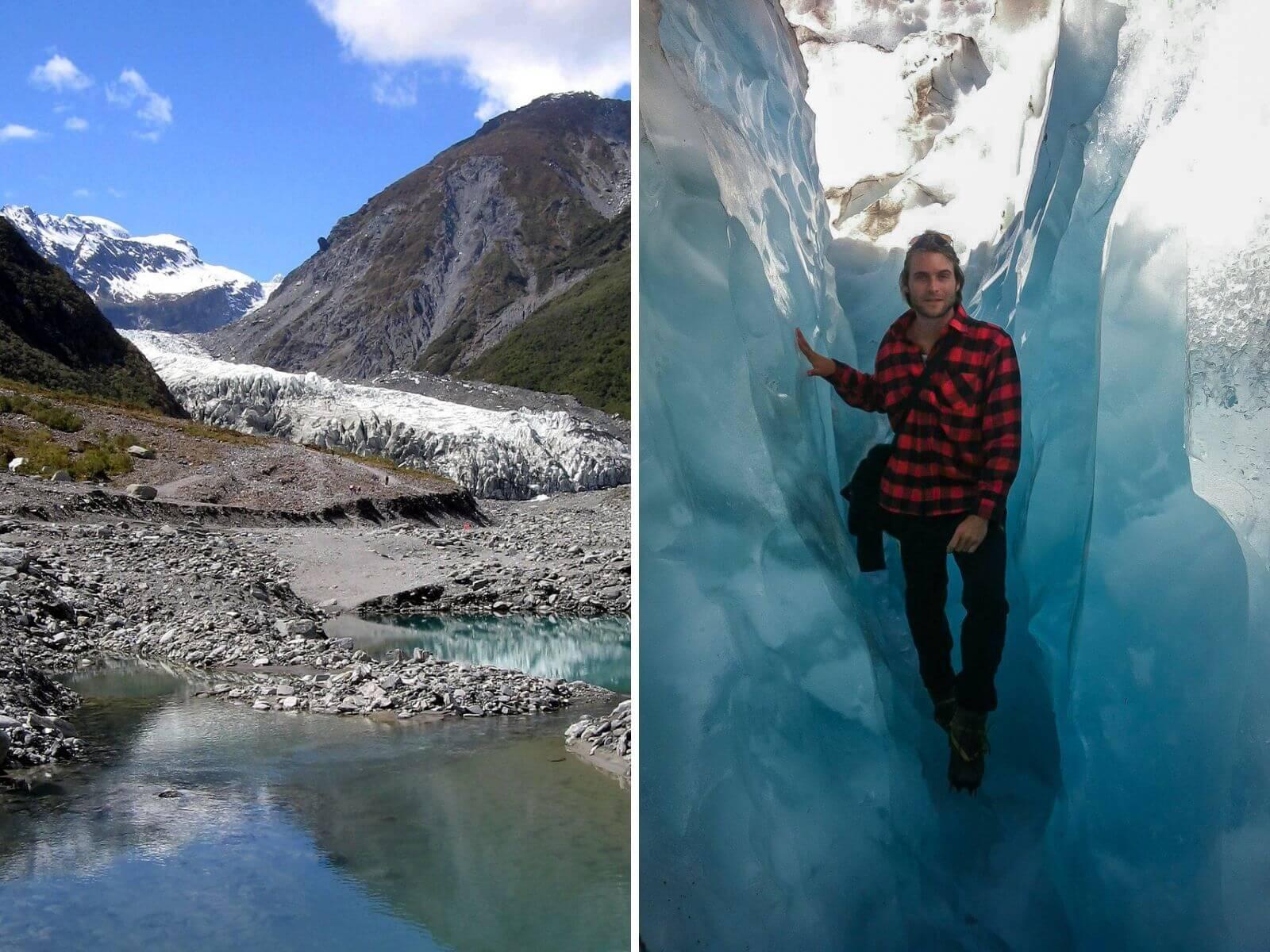 Franz Josef Glacier - een absolute must see op het Zuidereiland