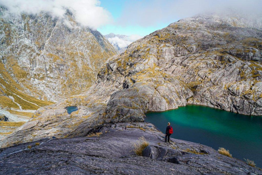 Wandelen Nieuw-Zeeland Zuidereiland: Gertrude Saddle eendaagse wandeling