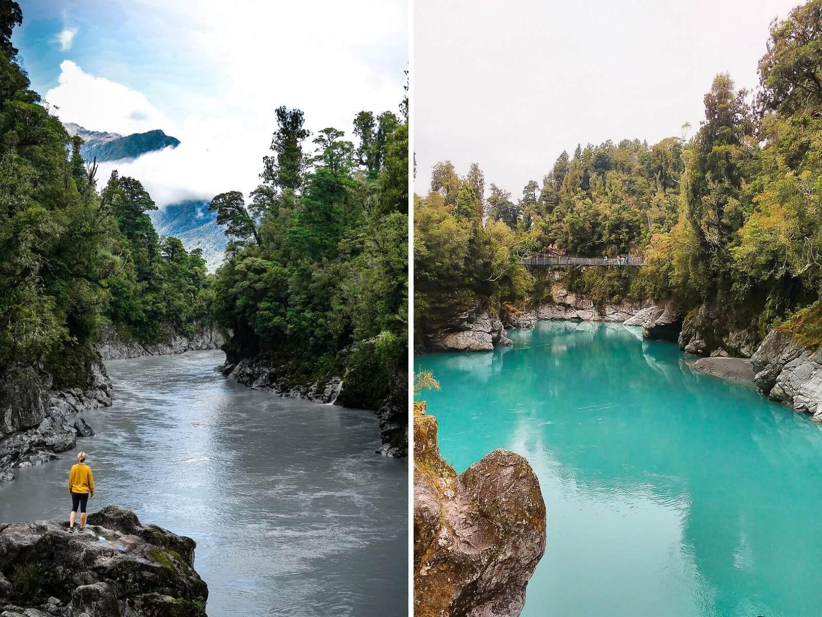 Hokitika Gorge - Zuidereiland Nieuw-Zeeland