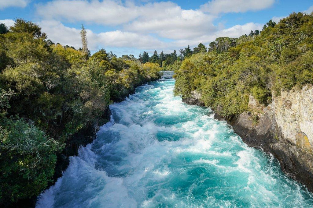 Huka Falls Noordereiland Nieuw-Zeeland