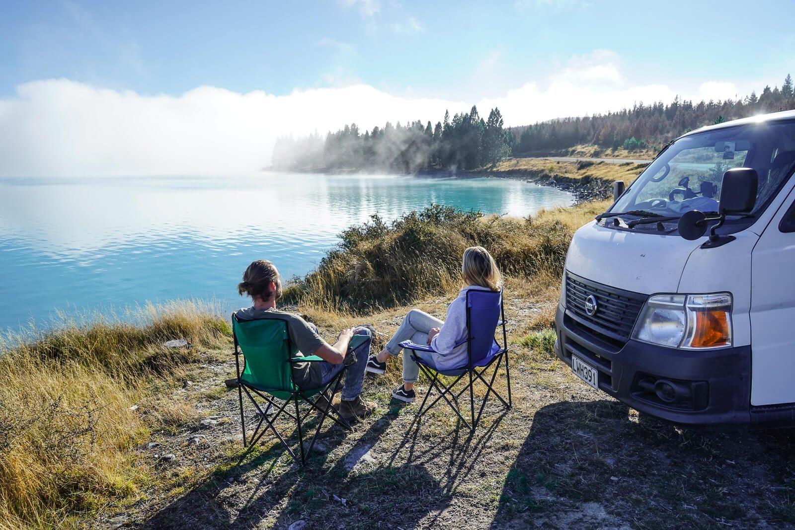 Kosten & Budget rondreis Nieuw-Zeeland - reizen met een camper