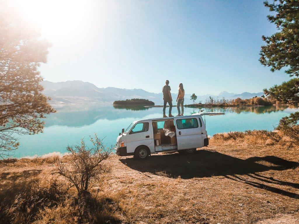 Lake Pukaki - must-see Zuidereiland Nieuw-Zeeland