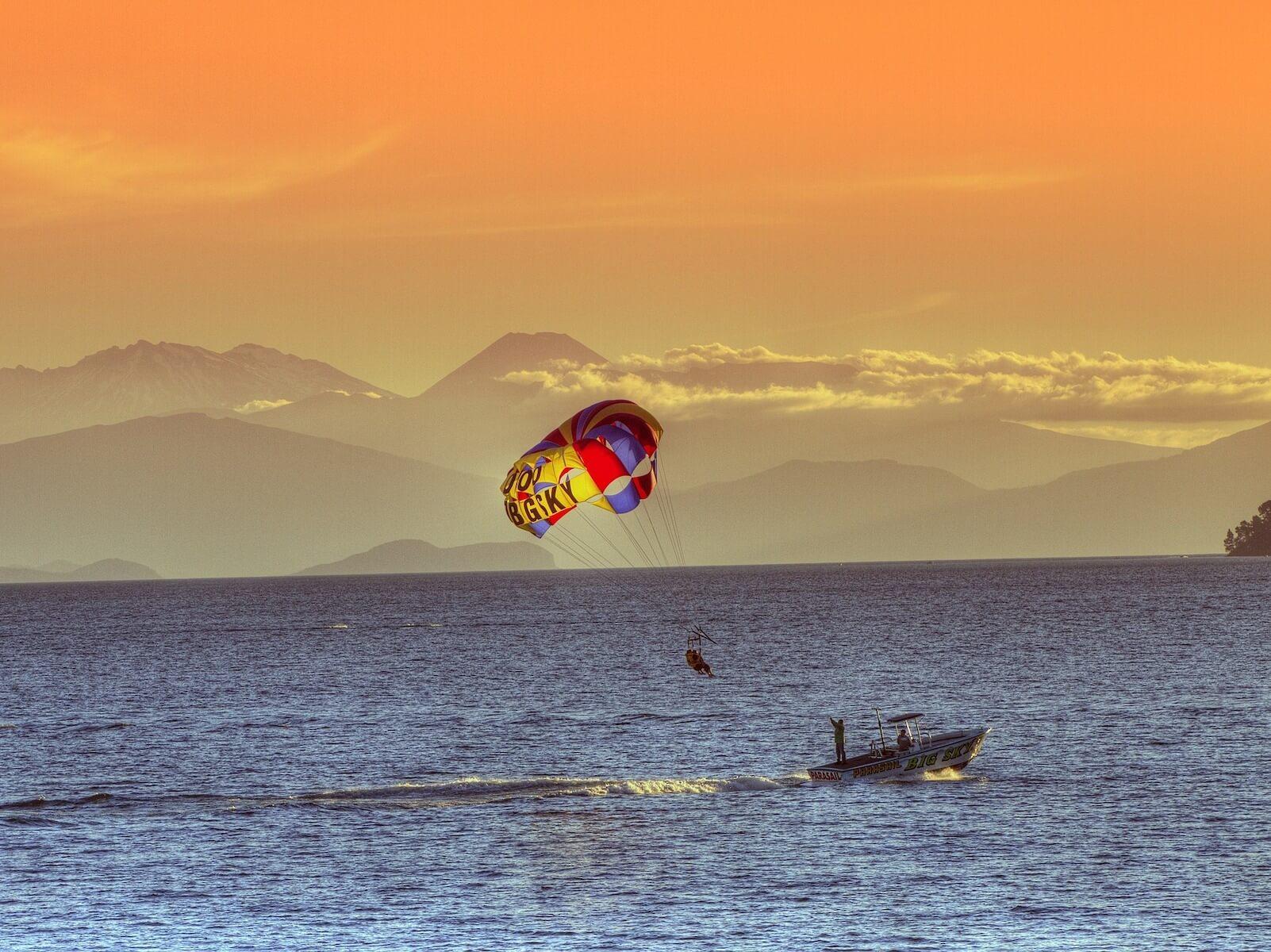 Lake Taupo Noordereiland Nieuw-Zeeland