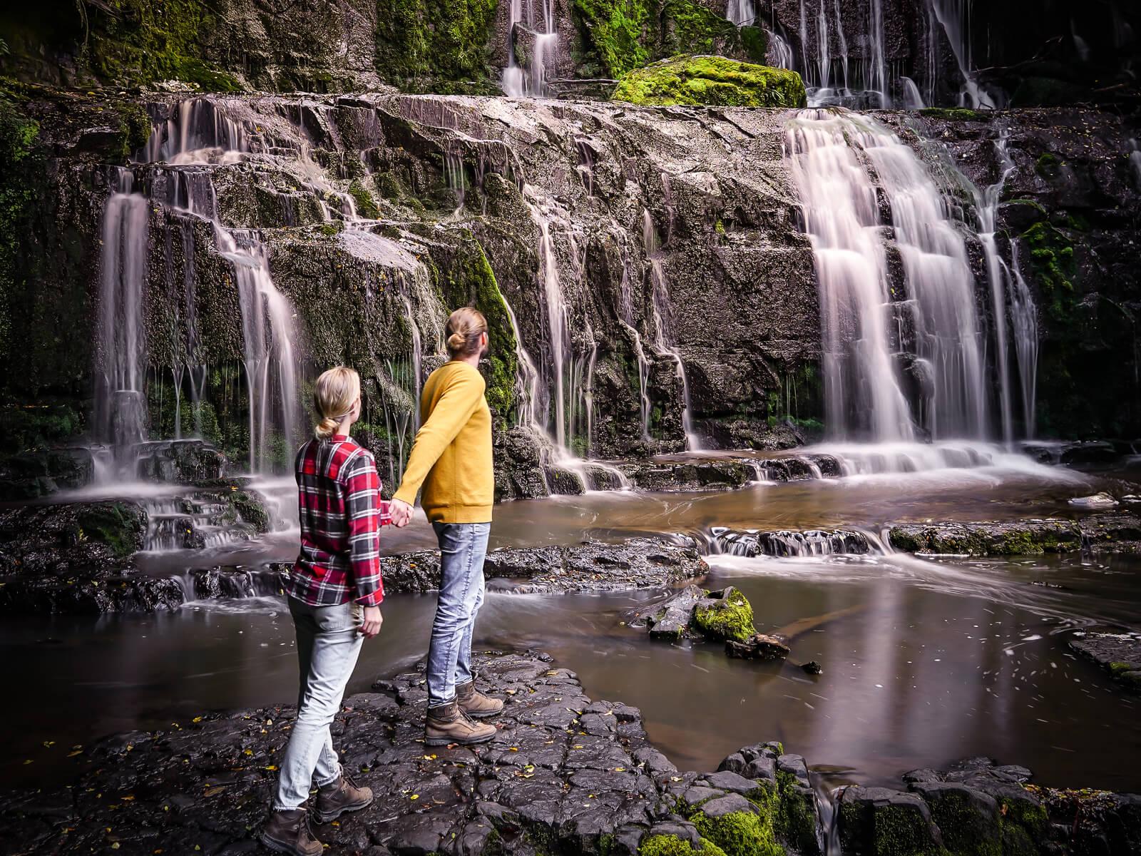Purakaunui Falls Catlins - by NOMADS