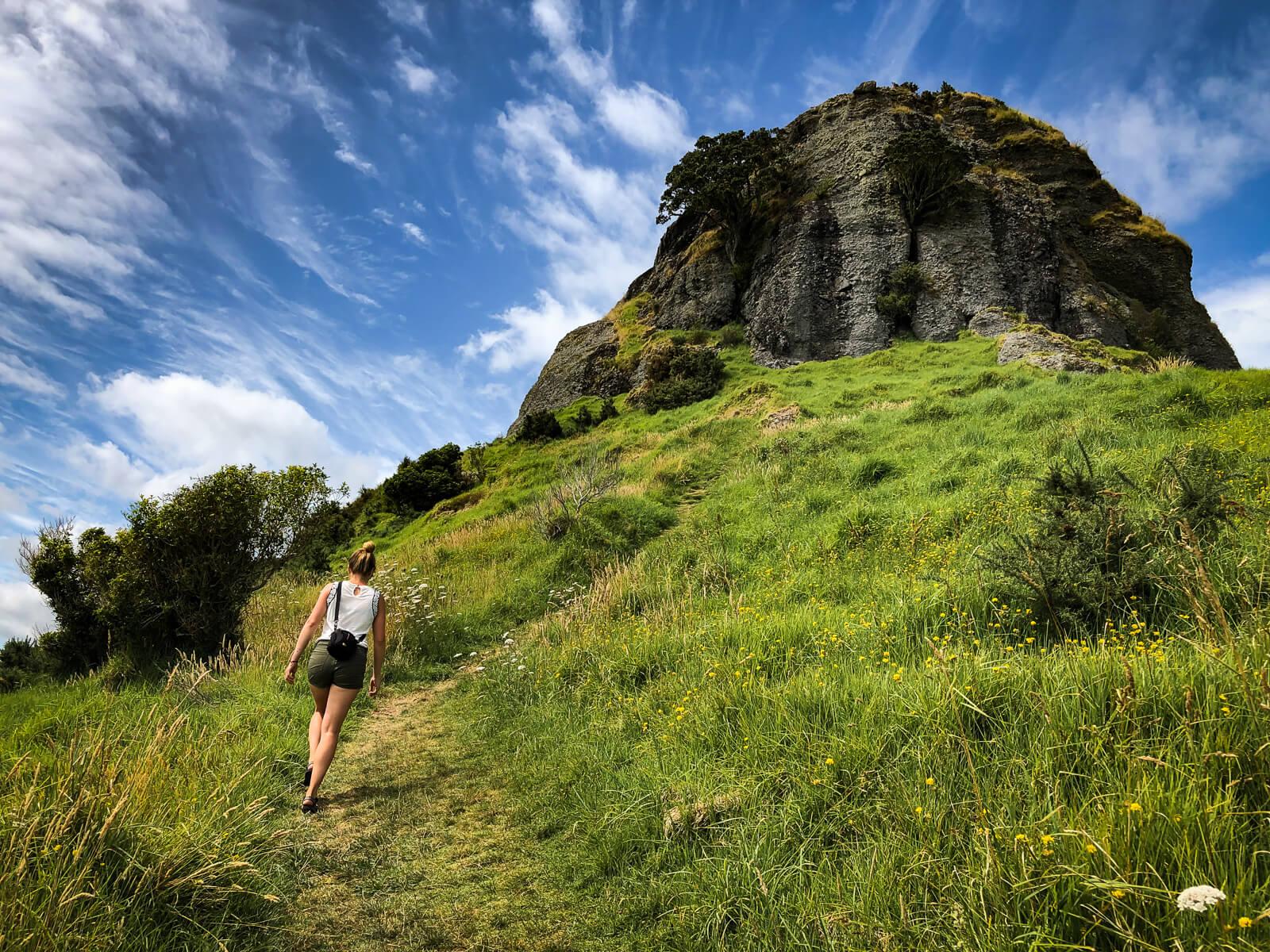 St Pauls rock - daghikes Noordereiland Nieuw-Zeeland