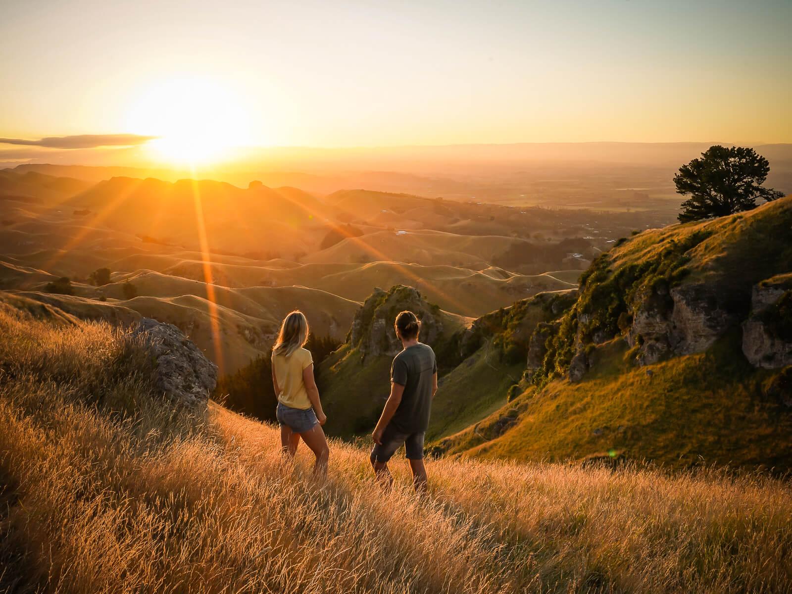 Te Mata Peak - Bezienswaardigheden Noordereiland Nieuw-Zeeland