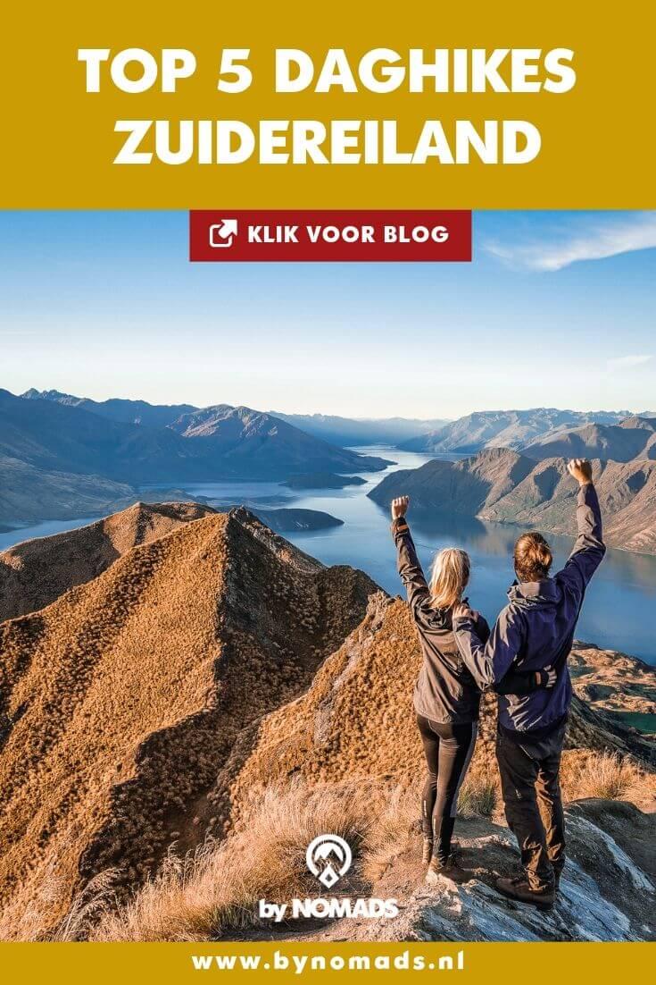 Top 5 daghikes Zuidereiland Nieuw-Zeeland - by NOMADS